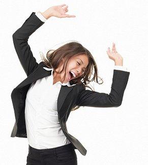 Bilderesultat for happy business woman
